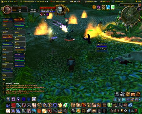 Click to view full size image  ==============  Killing Jeklik The first time CLOWN downed Jeklik, long time ago now but always fun with a trip down memory lane. :P Keywords: Jeklik Raid WOW Alliance